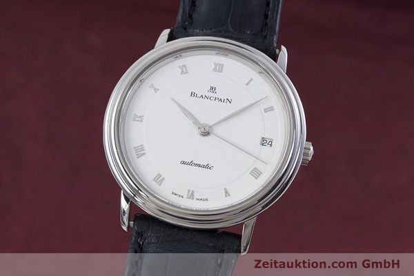Used luxury watch Blancpain Villeret steel automatic Kal. 1195  | 152838 04