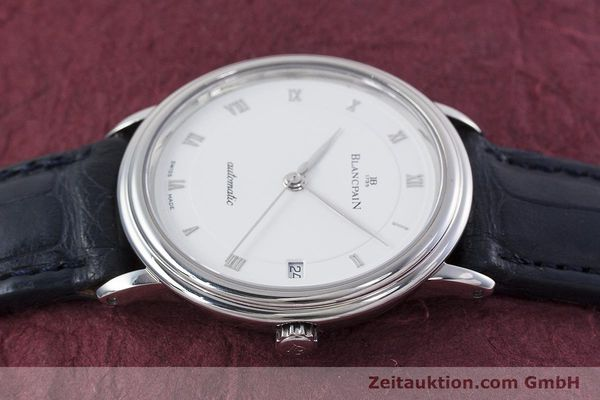 Used luxury watch Blancpain Villeret steel automatic Kal. 1195  | 152838 05