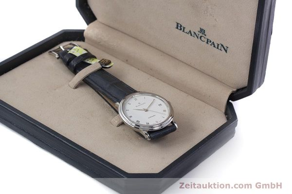 Used luxury watch Blancpain Villeret steel automatic Kal. 1195  | 152838 07
