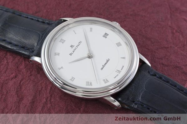 Used luxury watch Blancpain Villeret steel automatic Kal. 1195  | 152838 16