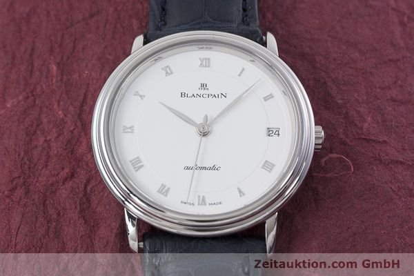 Used luxury watch Blancpain Villeret steel automatic Kal. 1195  | 152838 17
