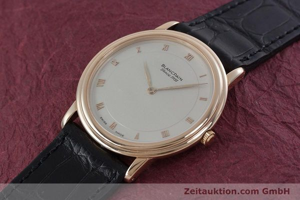 Used luxury watch Blancpain Villeret 18 ct gold automatic Kal. 71  | 152841 01