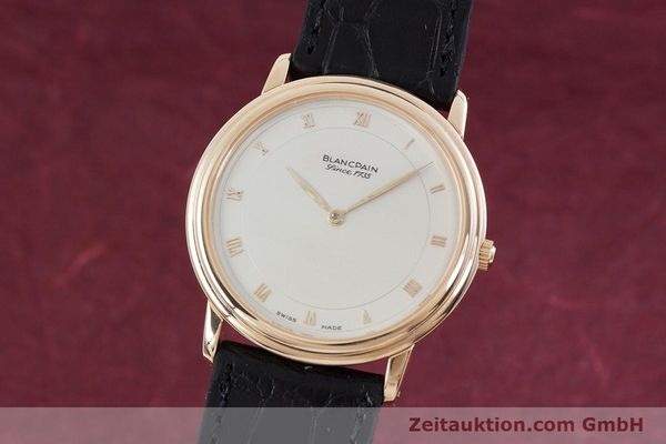 Used luxury watch Blancpain Villeret 18 ct gold automatic Kal. 71  | 152841 04