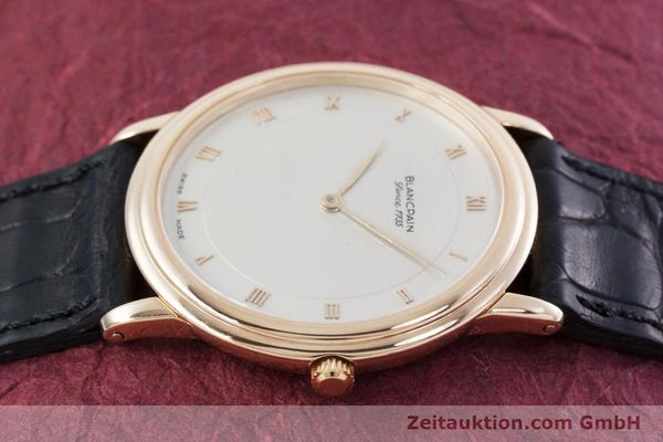 Used luxury watch Blancpain Villeret 18 ct gold automatic Kal. 71  | 152841 05