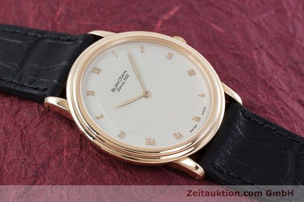 Used luxury watch Blancpain Villeret 18 ct gold automatic Kal. 71  | 152841 13
