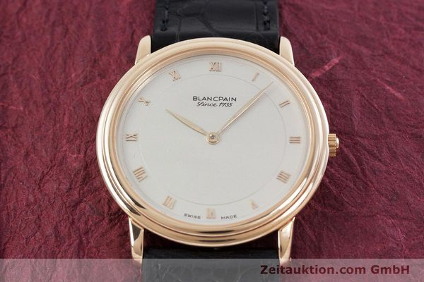 Used luxury watch Blancpain Villeret 18 ct gold automatic Kal. 71  | 152841 14