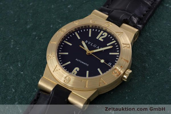 Used luxury watch Bvlgari Diagono 18 ct gold automatic Kal. 220MBBA Ref. LC35G  | 152850 01