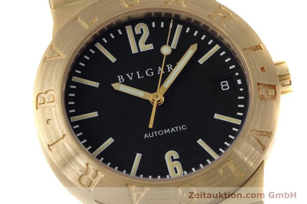 Used luxury watch Bvlgari Diagono 18 ct gold automatic Kal. 220MBBA Ref. LC35G  | 152850 02