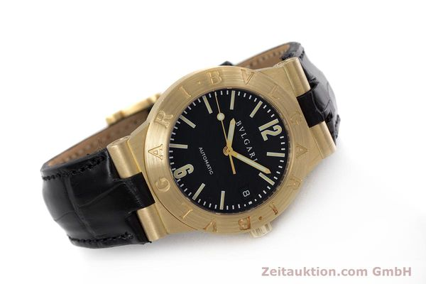 Used luxury watch Bvlgari Diagono 18 ct gold automatic Kal. 220MBBA Ref. LC35G  | 152850 03