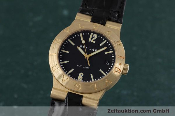 Used luxury watch Bvlgari Diagono 18 ct gold automatic Kal. 220MBBA Ref. LC35G  | 152850 04