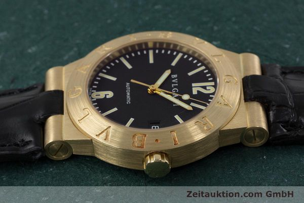 Used luxury watch Bvlgari Diagono 18 ct gold automatic Kal. 220MBBA Ref. LC35G  | 152850 05