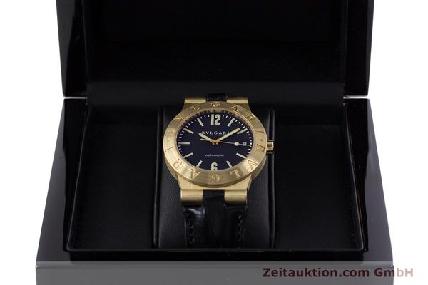 Used luxury watch Bvlgari Diagono 18 ct gold automatic Kal. 220MBBA Ref. LC35G  | 152850 07