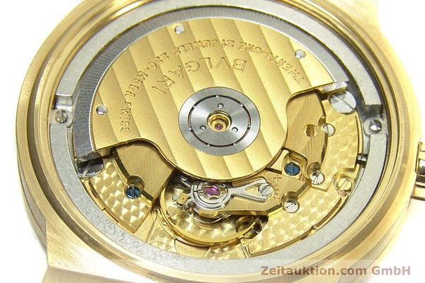 Used luxury watch Bvlgari Diagono 18 ct gold automatic Kal. 220MBBA Ref. LC35G  | 152850 10