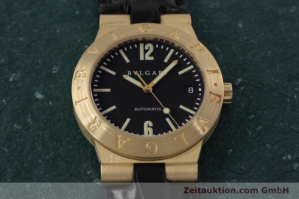 Used luxury watch Bvlgari Diagono 18 ct gold automatic Kal. 220MBBA Ref. LC35G  | 152850 17