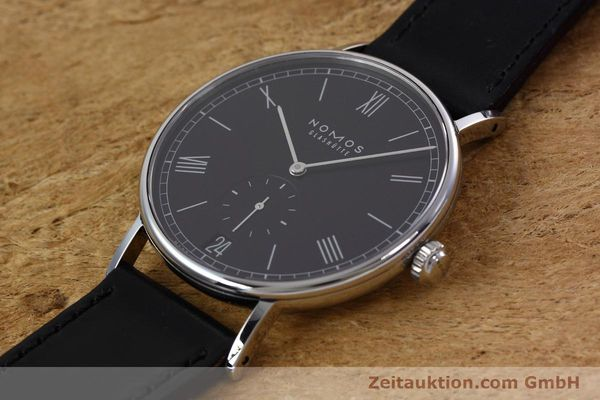 Used luxury watch Nomos Ludwig steel automatic Kal. Zeta  | 152851 01