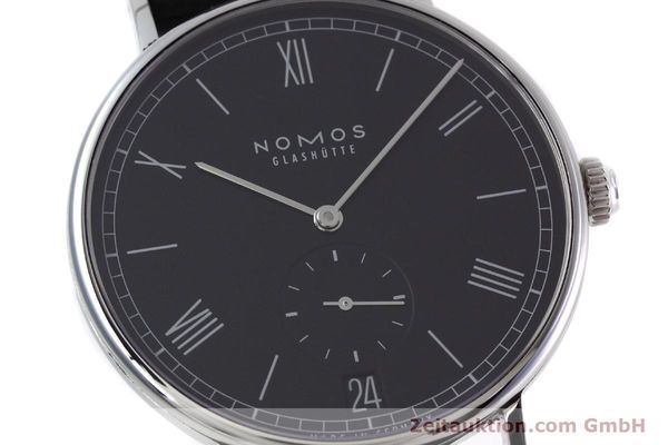Used luxury watch Nomos Ludwig steel automatic Kal. Zeta  | 152851 02