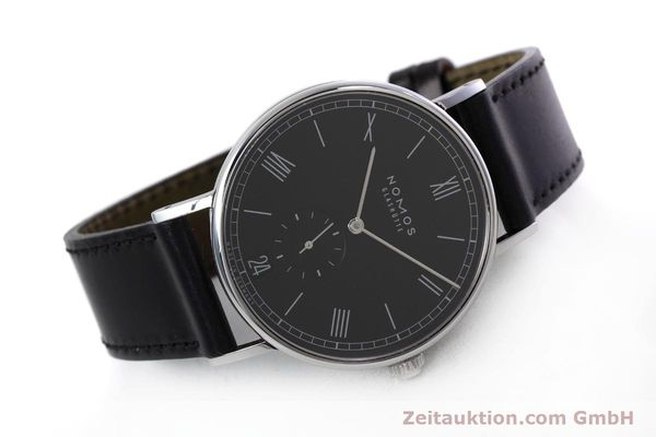 Used luxury watch Nomos Ludwig steel automatic Kal. Zeta  | 152851 03
