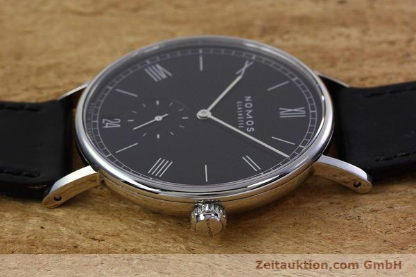 Used luxury watch Nomos Ludwig steel automatic Kal. Zeta  | 152851 05