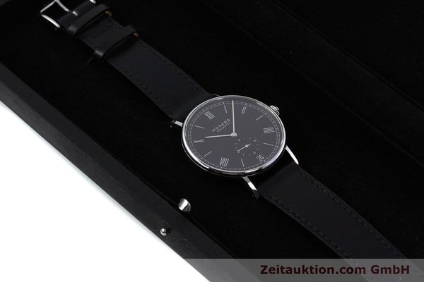 Used luxury watch Nomos Ludwig steel automatic Kal. Zeta  | 152851 07