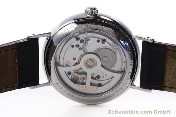 Used luxury watch Nomos Ludwig steel automatic Kal. Zeta  | 152851 09