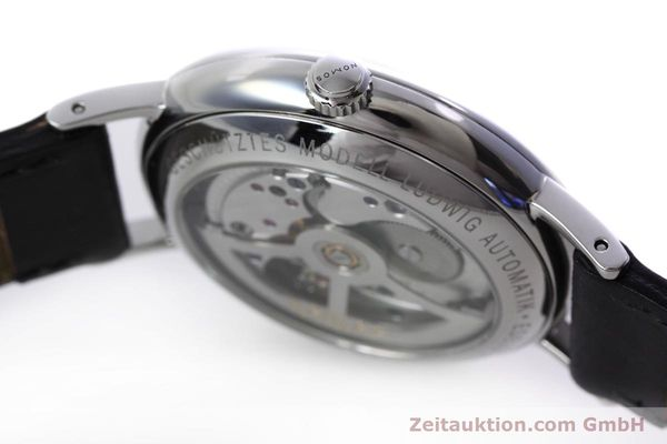Used luxury watch Nomos Ludwig steel automatic Kal. Zeta  | 152851 11