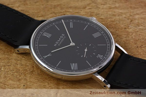 Used luxury watch Nomos Ludwig steel automatic Kal. Zeta  | 152851 14