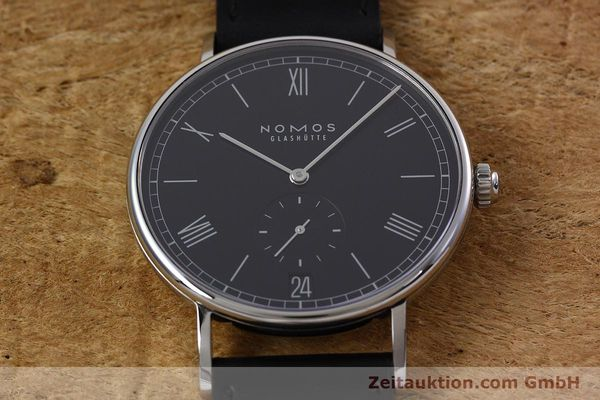 Used luxury watch Nomos Ludwig steel automatic Kal. Zeta  | 152851 15