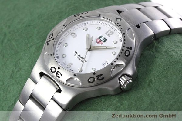 Used luxury watch Tag Heuer Kirium steel quartz Kal. 2.00 ETA 955113 Ref. WL1110-0  | 152855 01