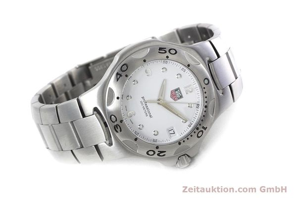 Used luxury watch Tag Heuer Kirium steel quartz Kal. 2.00 ETA 955113 Ref. WL1110-0  | 152855 03