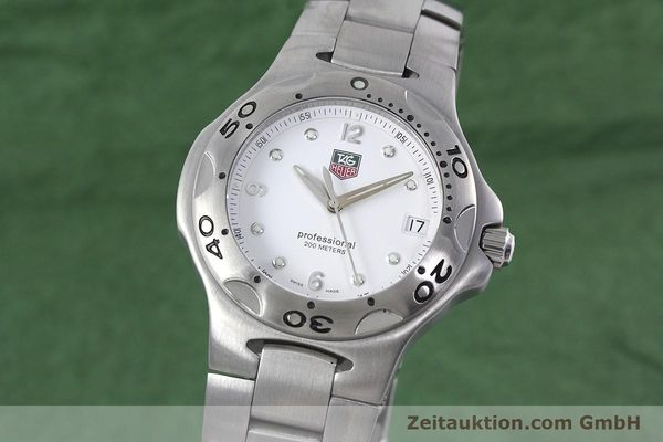 Used luxury watch Tag Heuer Kirium steel quartz Kal. 2.00 ETA 955113 Ref. WL1110-0  | 152855 04