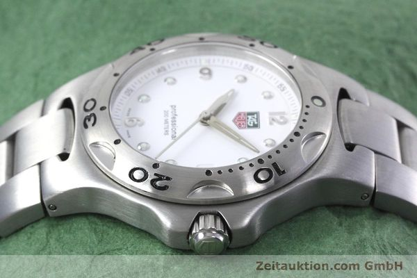 Used luxury watch Tag Heuer Kirium steel quartz Kal. 2.00 ETA 955113 Ref. WL1110-0  | 152855 05