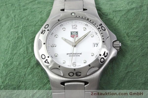 Used luxury watch Tag Heuer Kirium steel quartz Kal. 2.00 ETA 955113 Ref. WL1110-0  | 152855 14
