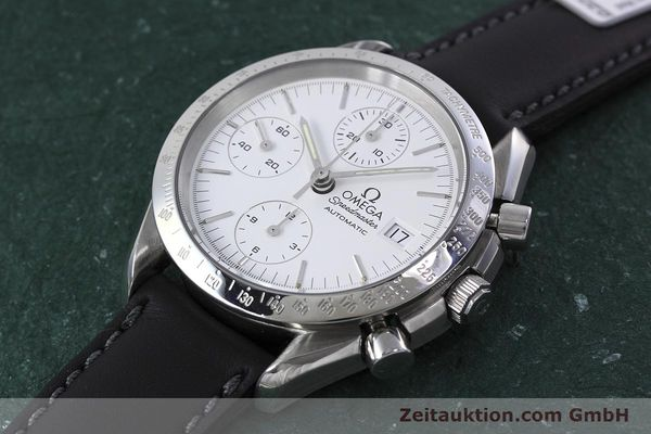 Used luxury watch Omega Speedmaster chronograph steel automatic Kal. 1155 ETA 7750  | 152857 01