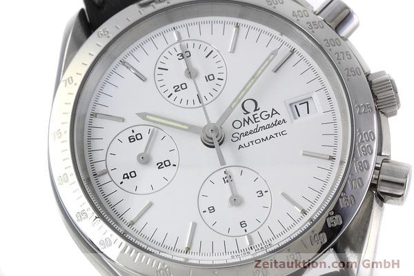 Used luxury watch Omega Speedmaster chronograph steel automatic Kal. 1155 ETA 7750  | 152857 02
