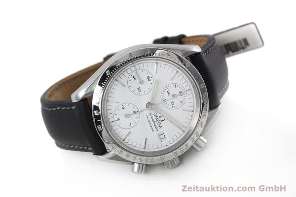 Used luxury watch Omega Speedmaster chronograph steel automatic Kal. 1155 ETA 7750  | 152857 03