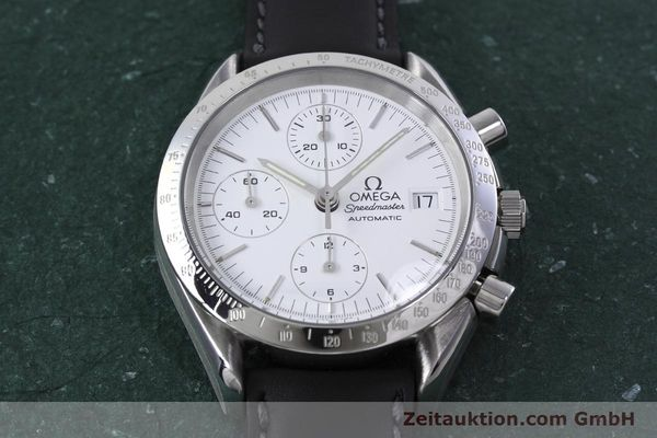 Used luxury watch Omega Speedmaster chronograph steel automatic Kal. 1155 ETA 7750  | 152857 15