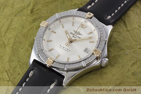 Used luxury watch Breitling Sirius steel / gold automatic Kal. B10 ETA 2892-2 Ref. B10071  | 152859 01