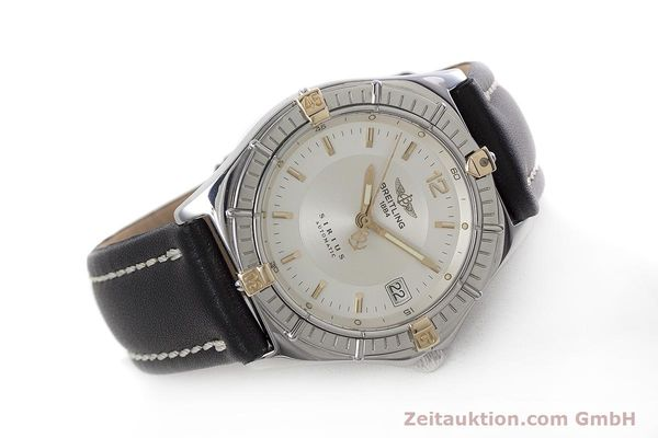 Used luxury watch Breitling Sirius steel / gold automatic Kal. B10 ETA 2892-2 Ref. B10071  | 152859 03