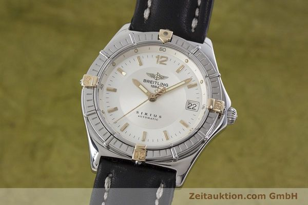 Used luxury watch Breitling Sirius steel / gold automatic Kal. B10 ETA 2892-2 Ref. B10071  | 152859 04
