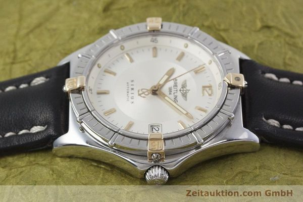 Used luxury watch Breitling Sirius steel / gold automatic Kal. B10 ETA 2892-2 Ref. B10071  | 152859 05