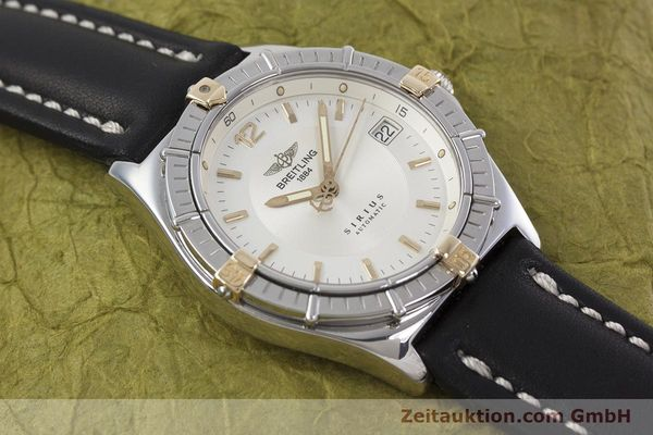 Used luxury watch Breitling Sirius steel / gold automatic Kal. B10 ETA 2892-2 Ref. B10071  | 152859 12