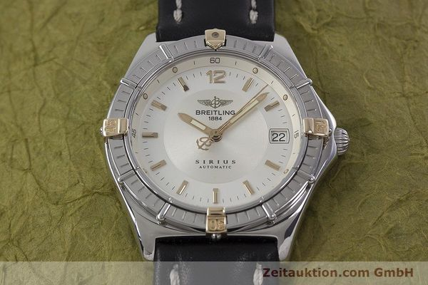 Used luxury watch Breitling Sirius steel / gold automatic Kal. B10 ETA 2892-2 Ref. B10071  | 152859 13