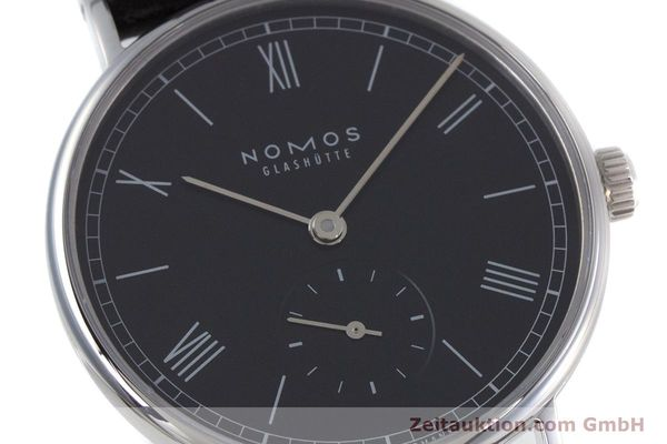 Used luxury watch Nomos Ludwig steel manual winding Kal. Alpha  | 152861 02