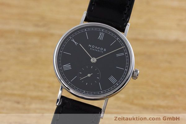 Used luxury watch Nomos Ludwig steel manual winding Kal. Alpha  | 152861 04