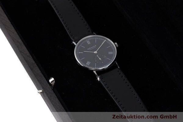 Used luxury watch Nomos Ludwig steel manual winding Kal. Alpha  | 152861 07