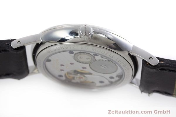 Used luxury watch Nomos Ludwig steel manual winding Kal. Alpha  | 152861 08