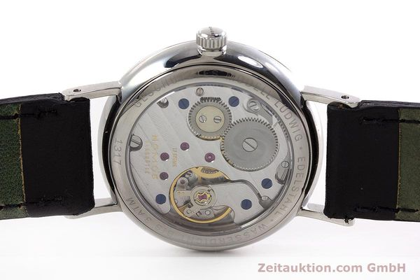 Used luxury watch Nomos Ludwig steel manual winding Kal. Alpha  | 152861 09