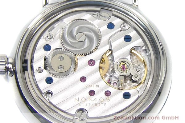 Used luxury watch Nomos Ludwig steel manual winding Kal. Alpha  | 152861 10