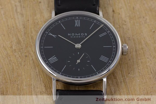 Used luxury watch Nomos Ludwig steel manual winding Kal. Alpha  | 152861 14