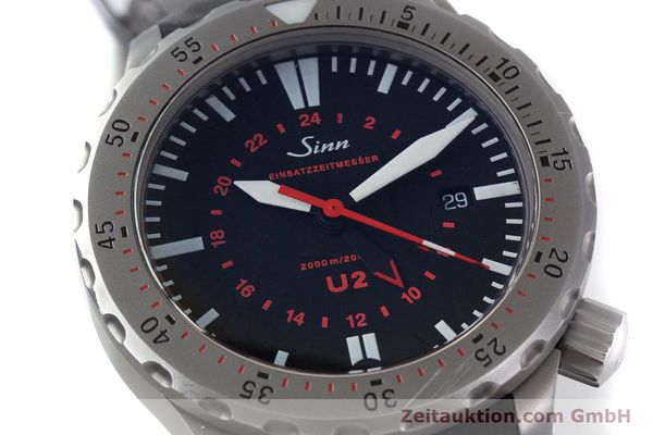 Used luxury watch Sinn U2 steel automatic Kal. ETA 2893-2 Ref. 10202348  | 152864 02